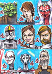 PSC SW Clone Wars set of 9