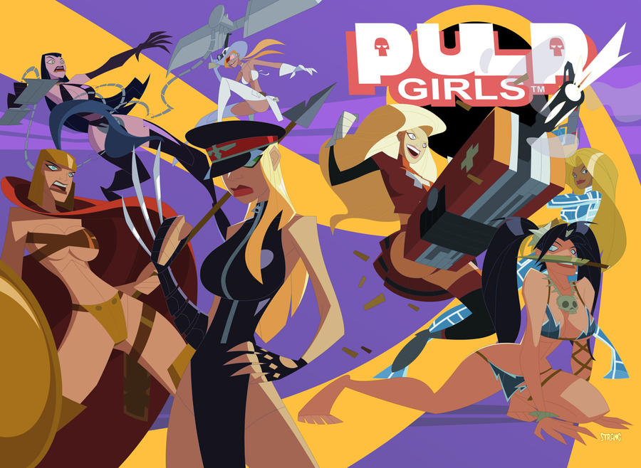 Pulp Girls by VonToten by jasinmartin