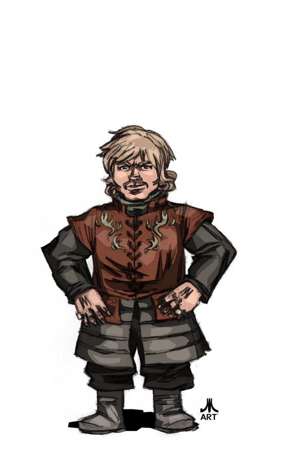 Game of Thrones TYRION LANNISTER by jasinmartin