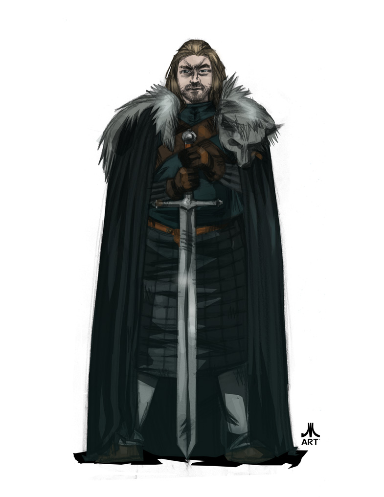 Game of Thrones NED STARK by jasinmartin