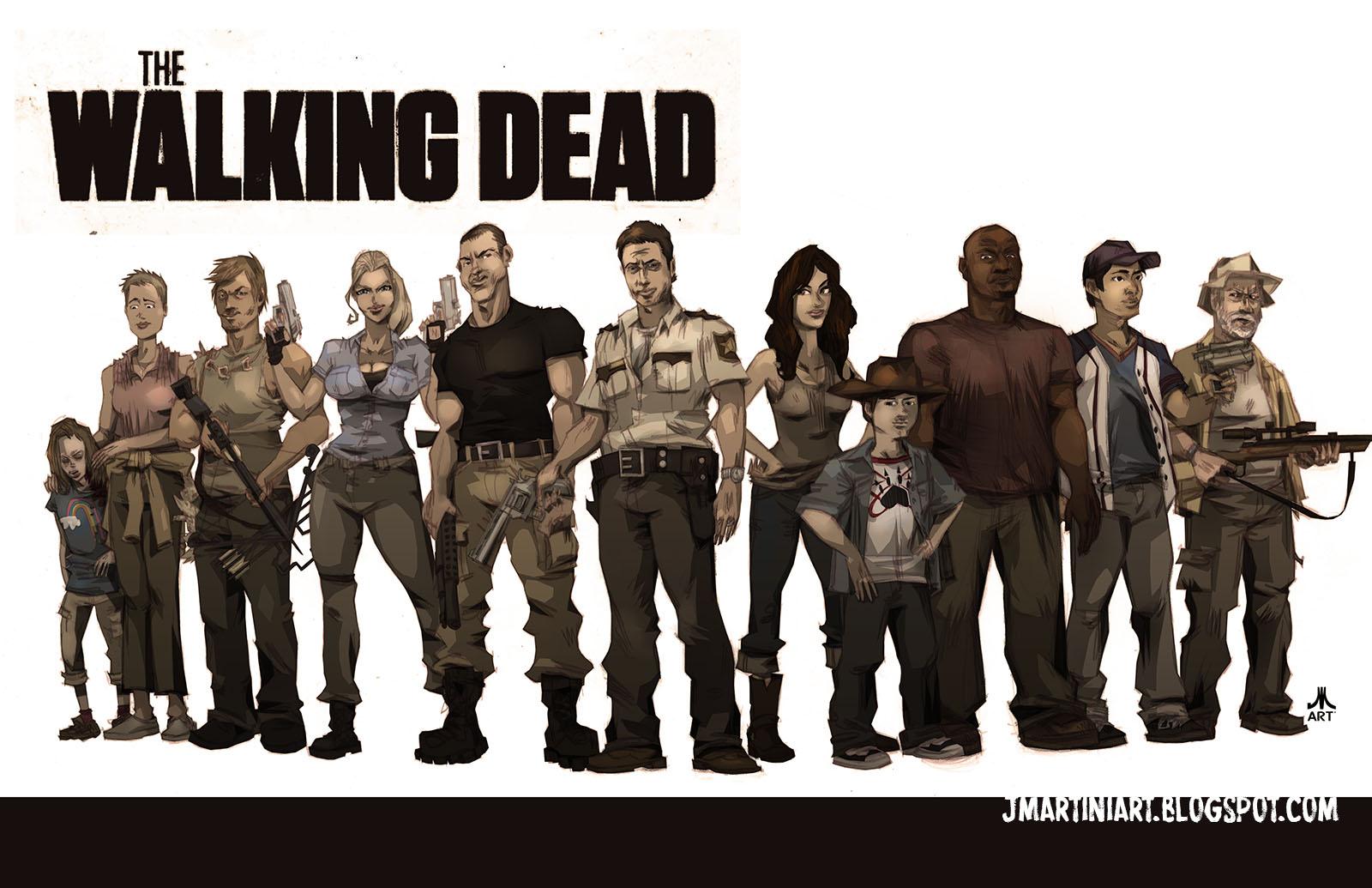 walking dead game season 1 cast