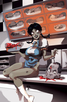 COLORS Zombie Tramp ISSUE 7 cover