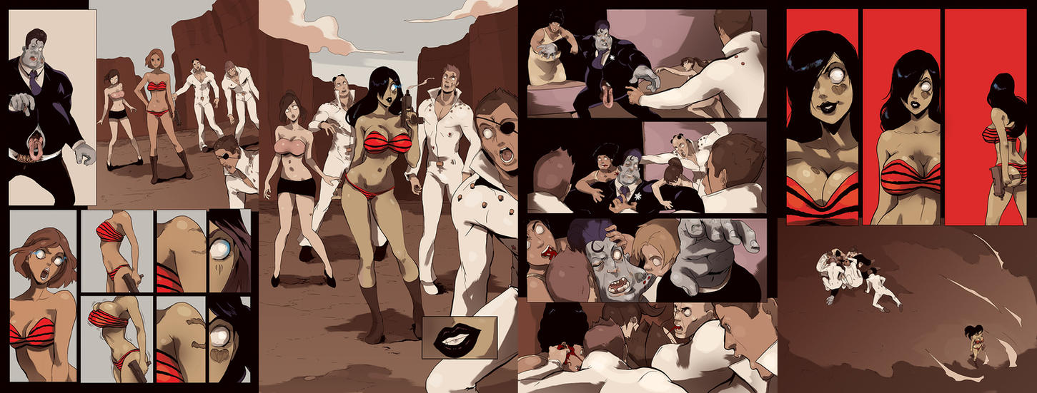 COLORS Zombie Tramp ISSUE 3 page18thru21 by jasinmartin
