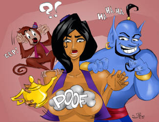 Aladdin gone wild by jasinmartin
