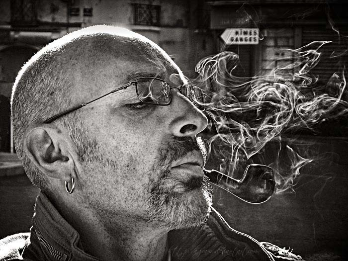 Self portrait. by Azram