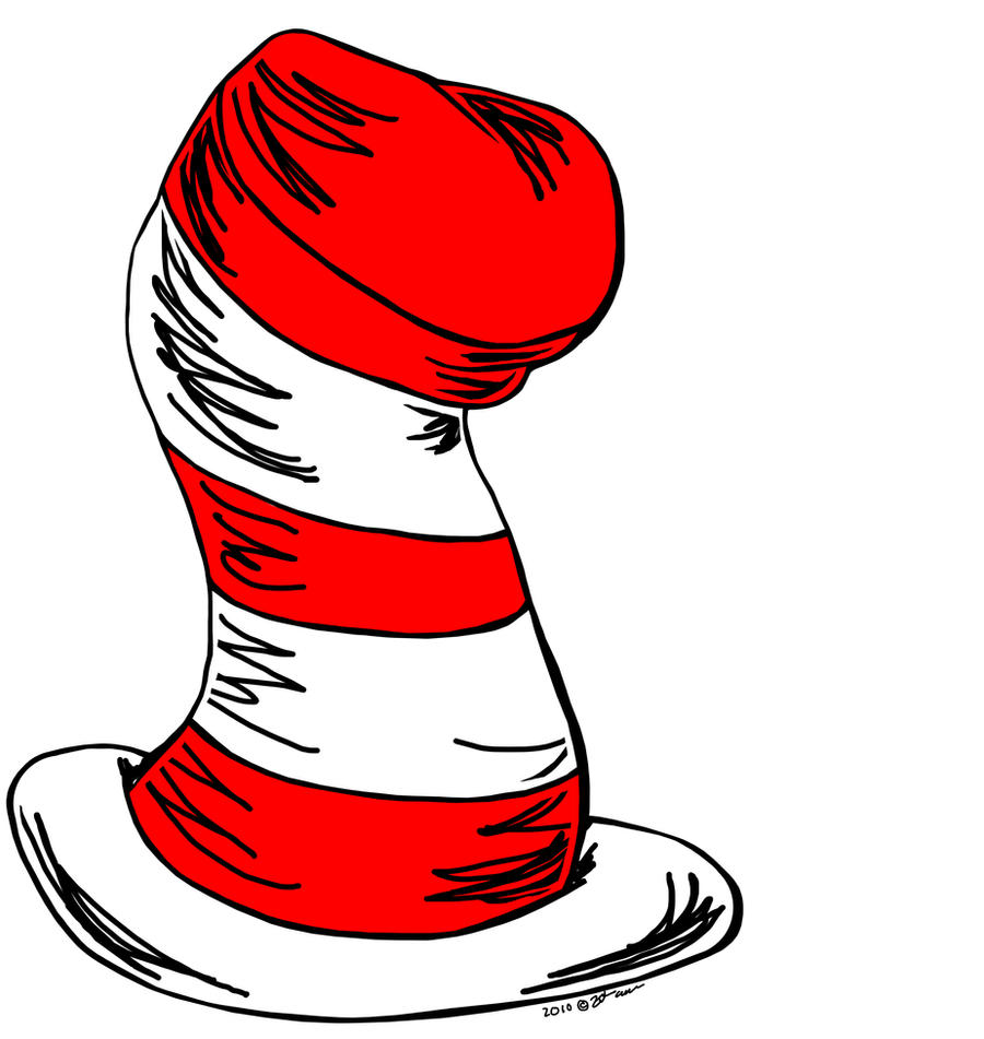 This is a photo of Satisfactory Drawing Cat In The Hat