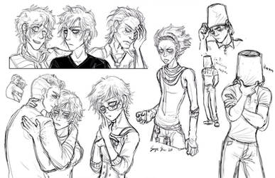Zero Escape Sketches