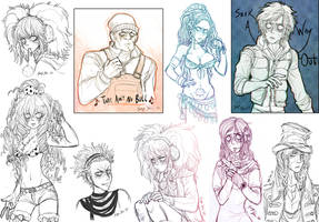 Zero Escape Sketches II
