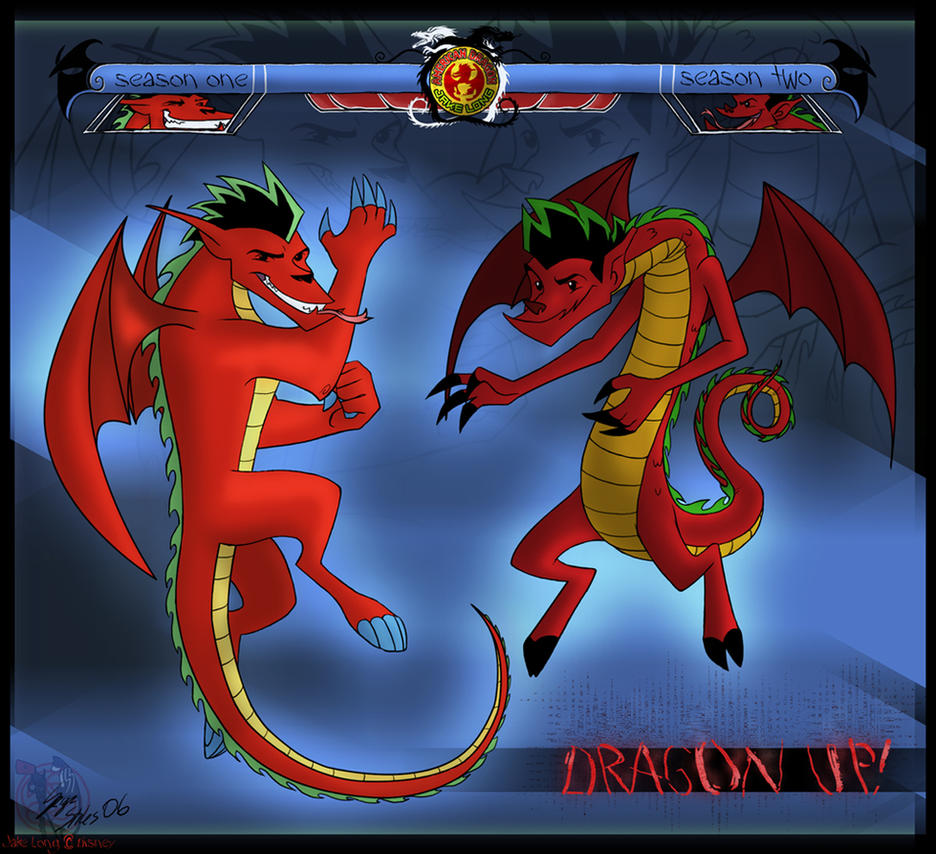 jake long s dragon forms by serge stiles on deviantart
