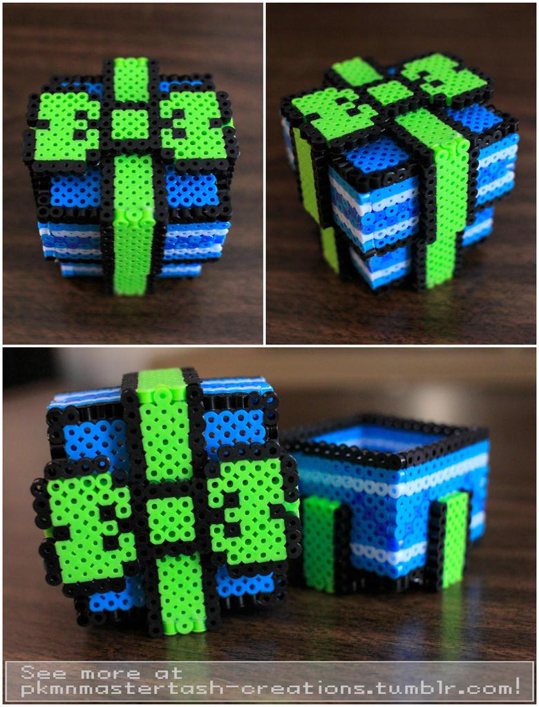 chocolate box fuse box holder box fuse bead ideas 3d fuse bead gift box by pkmnmastertash on deviantart