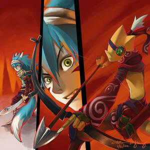 12 Tails Online Fan Art 3
