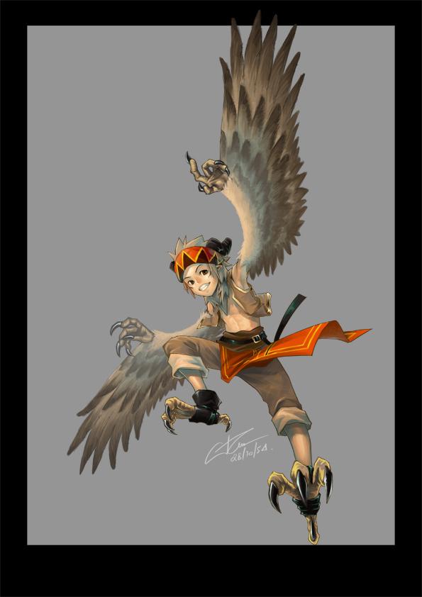 Entrenamiento de  Yoshi por Misty del Lagarto Bird_boy_by_longjunt-d4eczgj