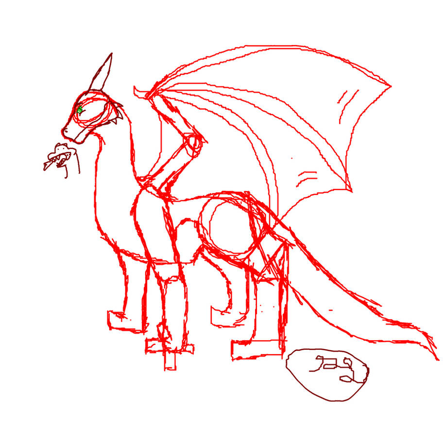 How to draw a dragon by alaricat