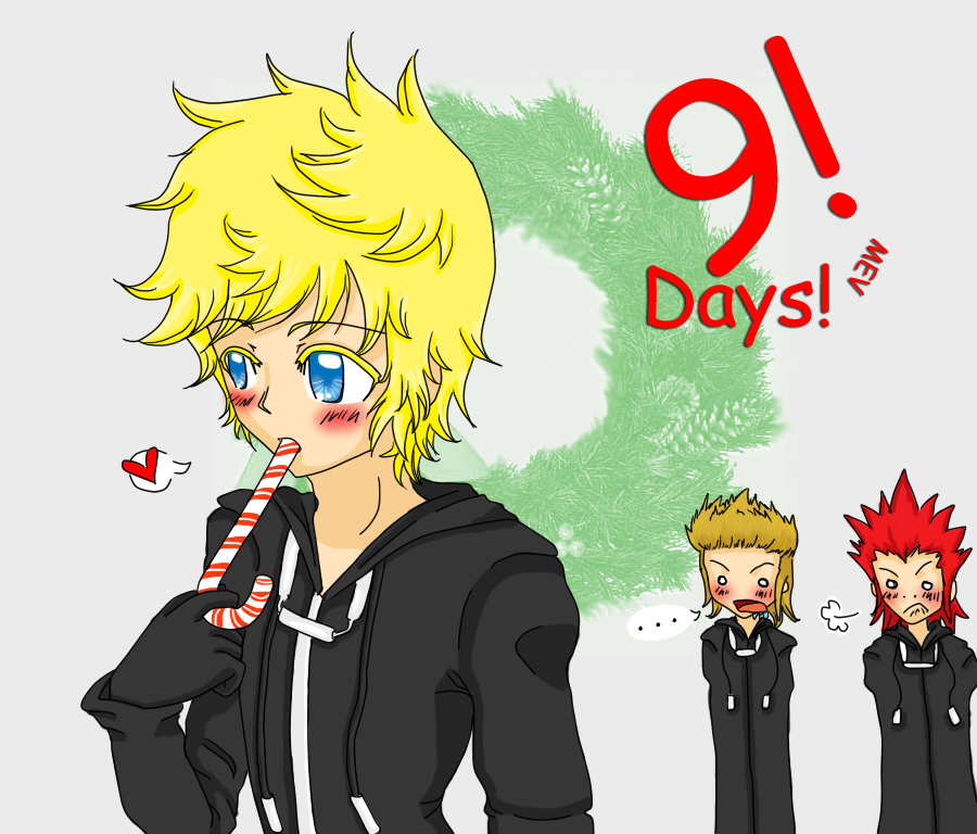 9 Days Till Christmas by MevAsumare on DeviantArt