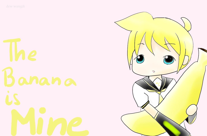 Len kagamine and the banana