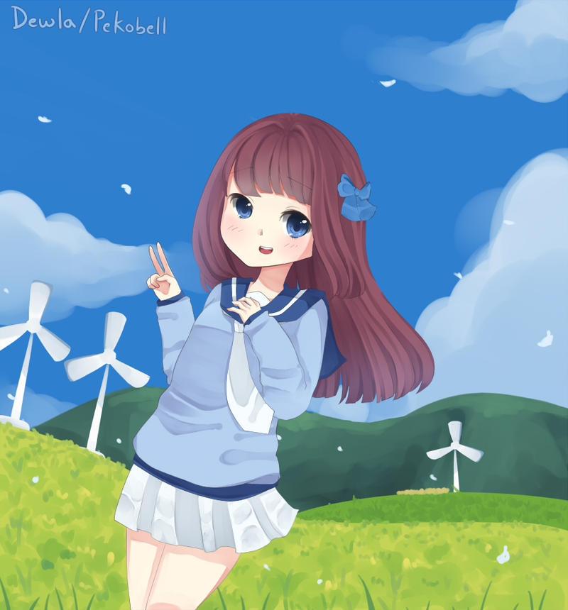 April breeze by Pekobell