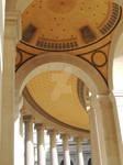 corridor in palais longchamp