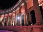 columns in the night