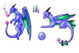 Convex Dragon- Dragon Cave Pixel by seriathedragon