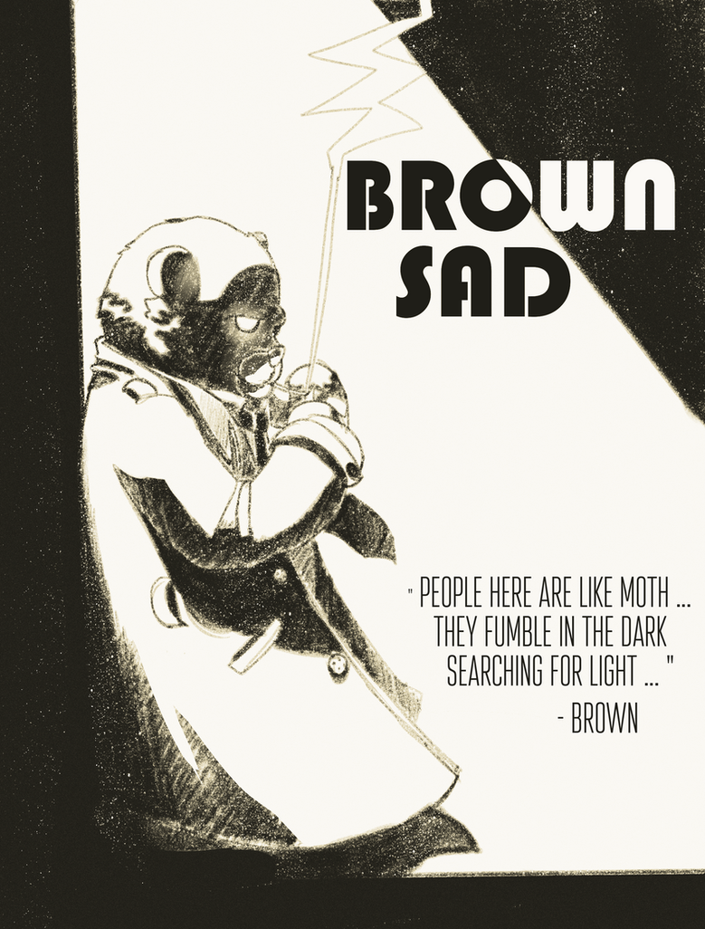Brown Sad by 2DSpaceMan