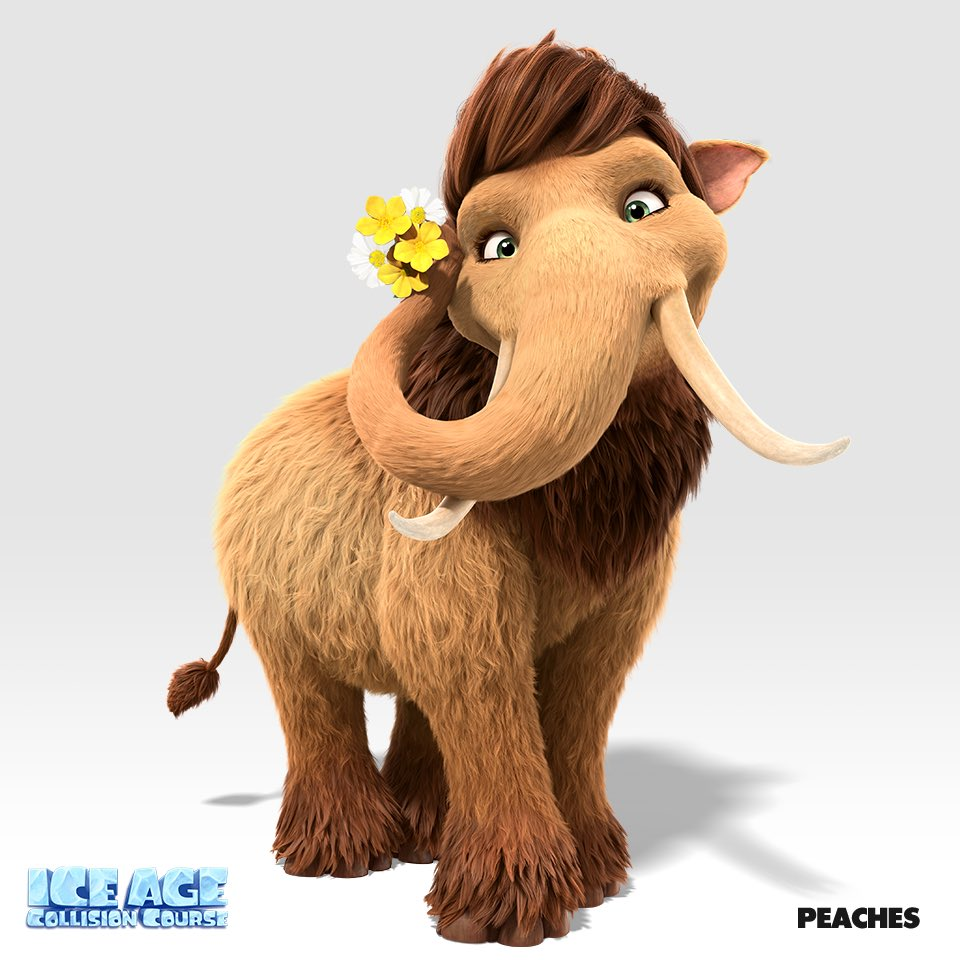 ice age 4 characters peaches - photo #4