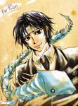 HxH Fanart - Kuroro and his Pet