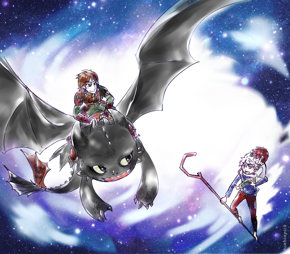 ROTG / HTTYD2 By BonBonPich On DeviantArt