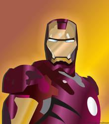 Low Resolution Vector Art ~Iron Man~ by megamindmaan
