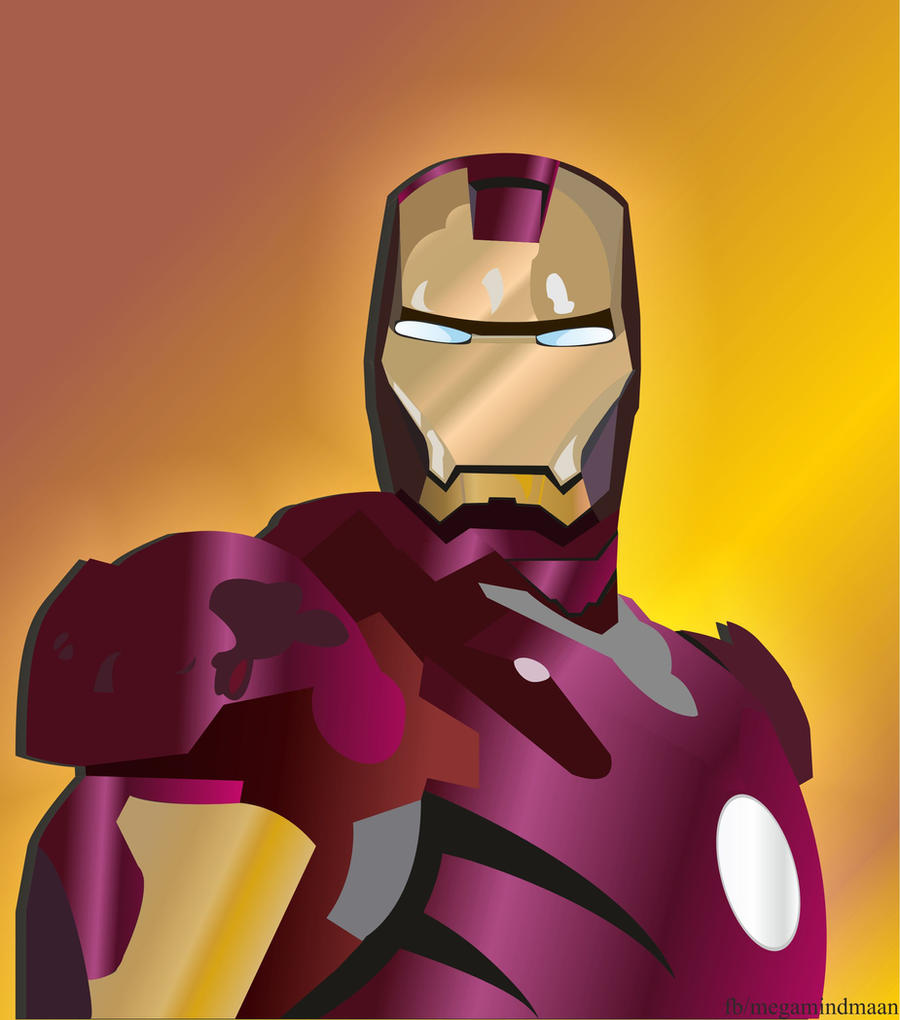Low Resolution Vector Art ~Iron Man~ by megamindmaan