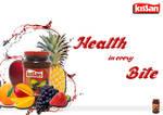 Product Ad Designing ~Kissan Jam~