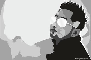 Low Res Vector Art  ~ YO YO Honey Singh~ by megamindmaan