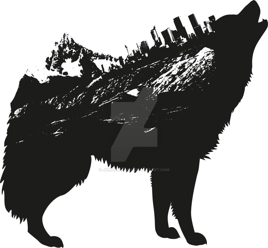 Wolf by JornAriaans