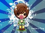 danson loves flowers