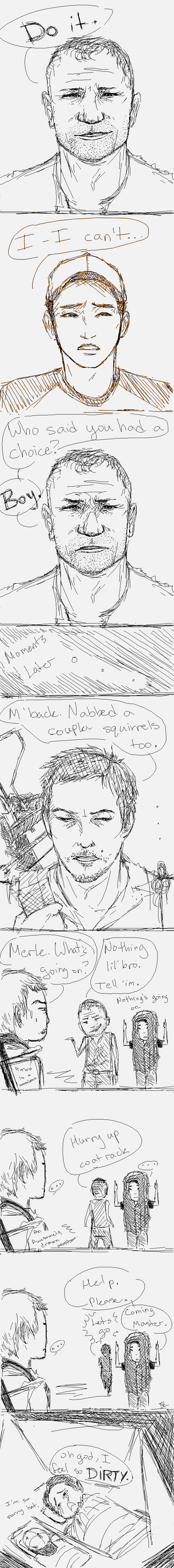 TWD-You whore. by Kai152
