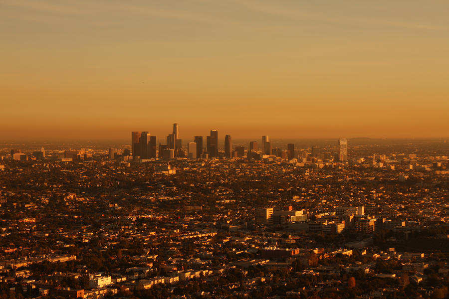 Sunset IV Los Angeles wallpaper