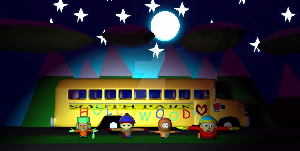South Park Line Up 2 by PrincessTS01