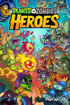 Plants Vs. Zombies Heroes splash screen by skullbabyland