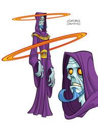 Saturn/Kronos by skullbabyland