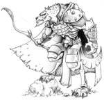 Grryn, Gnoll Ranger