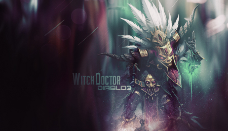 Witch Doctor - Diablo 3 - Forum - Signature by AmarokDota