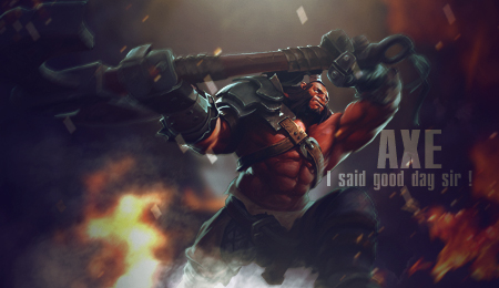 Mogul Khan - Axe - Dota 2 - Forum - Signature by AmarokDota