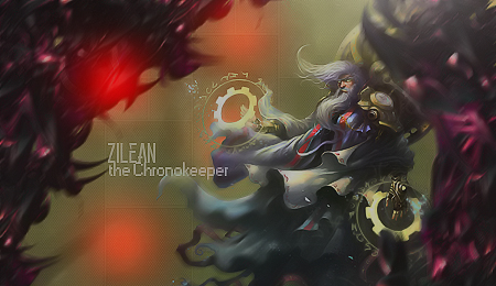 Zilean - the Chronekeeper - Forum - Signature by AmarokDota