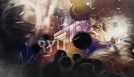 Street Fighter - Ryu - Forum - Signature by AmarokDota