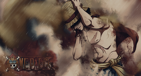 One Piece -  Luffy - Forum Signature by AmarokDota