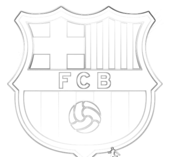 fc barcelona symbol outline by darkreveren on deviantart fc barcelona symbol outline by