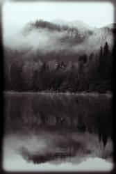 misty mountain by dreamonlittledreamer