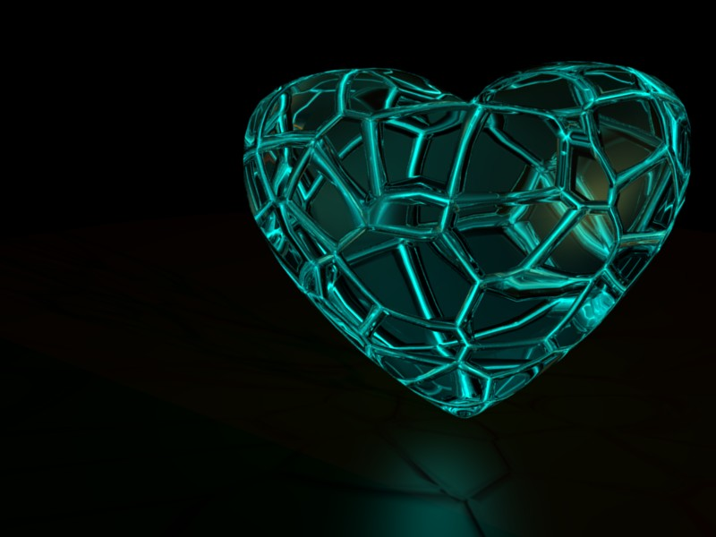 Crystal heart by MrSide