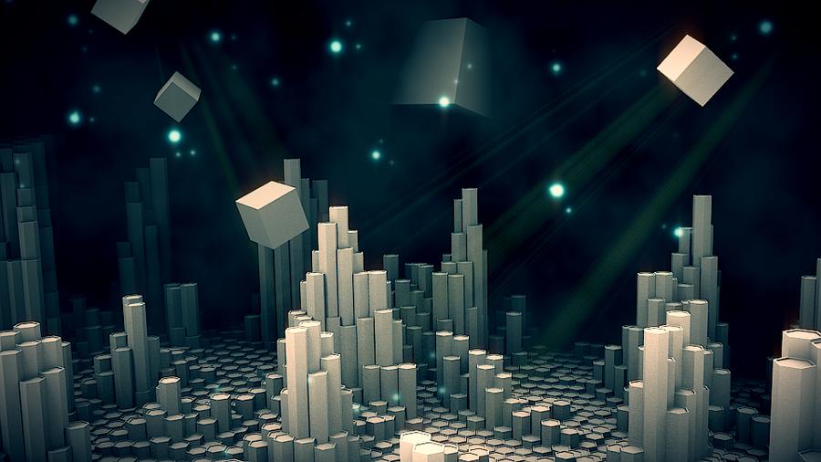 Short animation- Hexagon world by MrSide