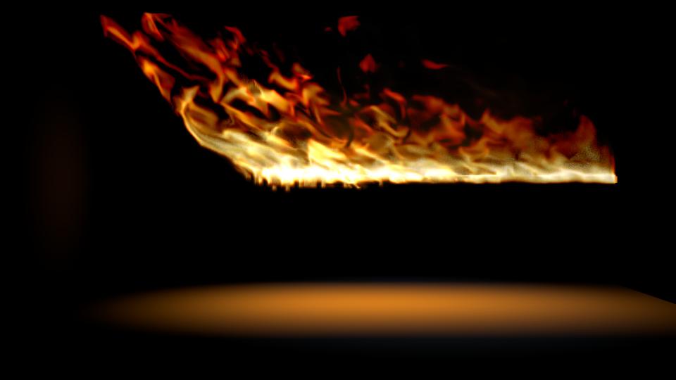 Blender fire by MrSide