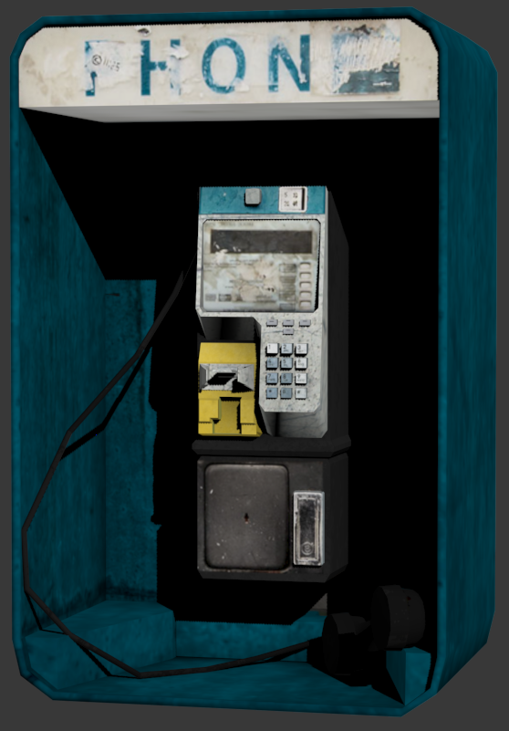 Phone Cab textured by MrSide